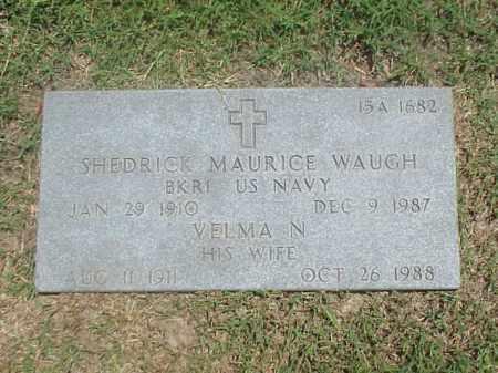 WAUGH, VELMA N - Pulaski County, Arkansas | VELMA N WAUGH - Arkansas Gravestone Photos