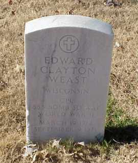 WEAST (VETERAN WWII), EDWARD CLAYTON - Pulaski County, Arkansas   EDWARD CLAYTON WEAST (VETERAN WWII) - Arkansas Gravestone Photos