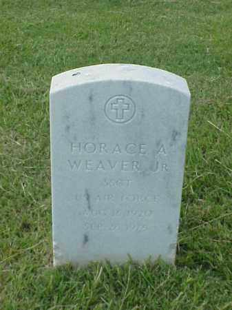 WEAVER, JR (VETERAN), HORACE A - Pulaski County, Arkansas | HORACE A WEAVER, JR (VETERAN) - Arkansas Gravestone Photos