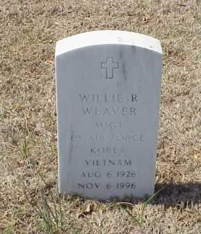 WEAVER (VETERAN 2 WARS), WILLIE R - Pulaski County, Arkansas | WILLIE R WEAVER (VETERAN 2 WARS) - Arkansas Gravestone Photos