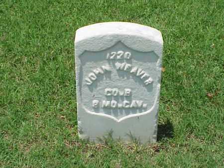 WEAVER (VETERAN UNION), JOHN - Pulaski County, Arkansas   JOHN WEAVER (VETERAN UNION) - Arkansas Gravestone Photos