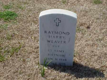 WEAVER (VETERAN VIET), RAYMOND HARRY - Pulaski County, Arkansas | RAYMOND HARRY WEAVER (VETERAN VIET) - Arkansas Gravestone Photos