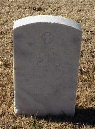 WEAVER (VETERAN WWI), HENRY - Pulaski County, Arkansas | HENRY WEAVER (VETERAN WWI) - Arkansas Gravestone Photos