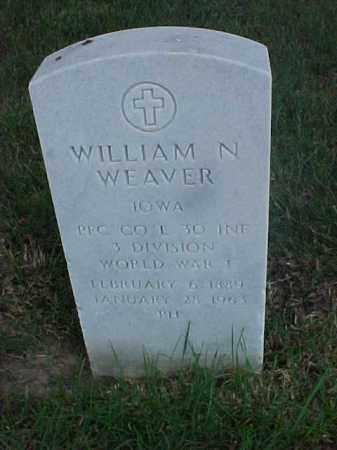 WEAVER (VETERAN WWI), WILLIAM N - Pulaski County, Arkansas | WILLIAM N WEAVER (VETERAN WWI) - Arkansas Gravestone Photos