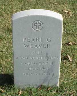 WEAVER (VETERAN WWII), PEARL G - Pulaski County, Arkansas | PEARL G WEAVER (VETERAN WWII) - Arkansas Gravestone Photos