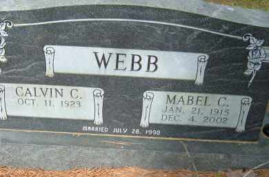 WEBB, MABEL C. - Pulaski County, Arkansas | MABEL C. WEBB - Arkansas Gravestone Photos
