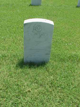 WEBB (VETERAN WWI), CLARENCE - Pulaski County, Arkansas | CLARENCE WEBB (VETERAN WWI) - Arkansas Gravestone Photos