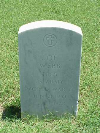 WEBB (VETERAN WWII), JOE - Pulaski County, Arkansas   JOE WEBB (VETERAN WWII) - Arkansas Gravestone Photos