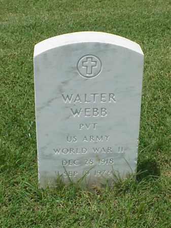 WEBB (VETERAN WWII), WALTER - Pulaski County, Arkansas | WALTER WEBB (VETERAN WWII) - Arkansas Gravestone Photos