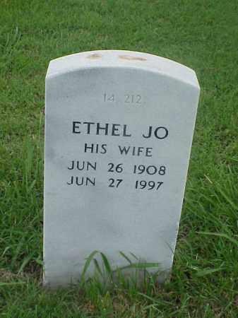WEBBER, ETHEL JO - Pulaski County, Arkansas   ETHEL JO WEBBER - Arkansas Gravestone Photos