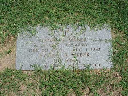 WEBER, EVELYN R - Pulaski County, Arkansas | EVELYN R WEBER - Arkansas Gravestone Photos