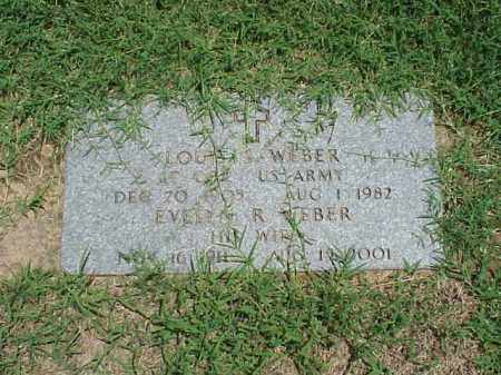 WEBER (VETERAN), LOUIS S - Pulaski County, Arkansas | LOUIS S WEBER (VETERAN) - Arkansas Gravestone Photos