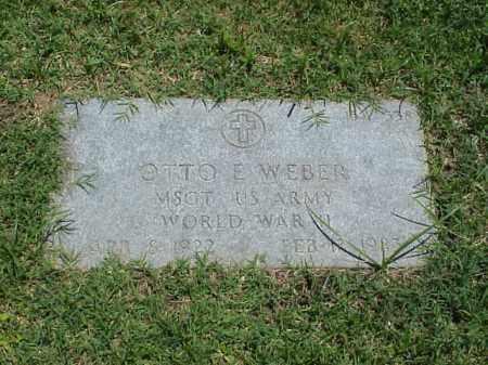 WEBER (VETERAN WWII), OTTO E - Pulaski County, Arkansas | OTTO E WEBER (VETERAN WWII) - Arkansas Gravestone Photos