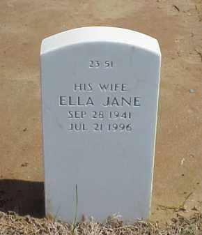 WEBSTER, ELLA JANE - Pulaski County, Arkansas | ELLA JANE WEBSTER - Arkansas Gravestone Photos