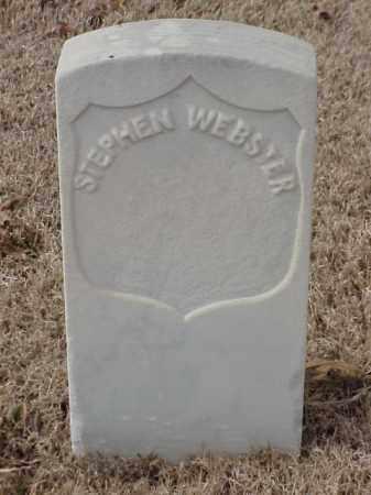 WEBSTER (VETERAN UNION), STEPHEN - Pulaski County, Arkansas | STEPHEN WEBSTER (VETERAN UNION) - Arkansas Gravestone Photos