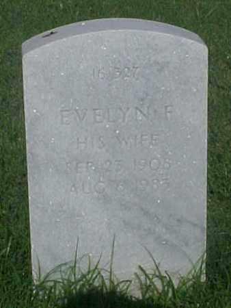 WEED, EVELYN F - Pulaski County, Arkansas | EVELYN F WEED - Arkansas Gravestone Photos