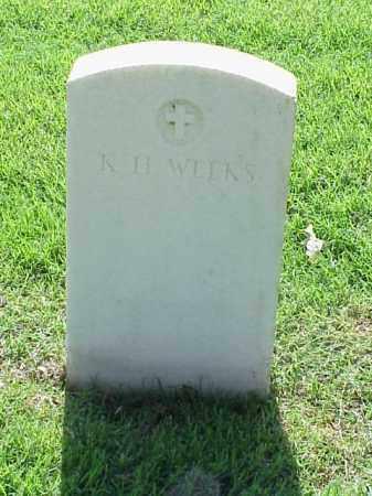 WEEKS (VETERAN UNION), K H - Pulaski County, Arkansas   K H WEEKS (VETERAN UNION) - Arkansas Gravestone Photos