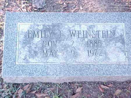 WEINSTEIN, EMILY F - Pulaski County, Arkansas   EMILY F WEINSTEIN - Arkansas Gravestone Photos