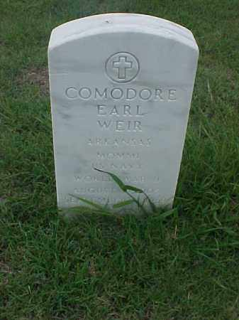 WEIR (VETERAN WWII), COMODORE EARL - Pulaski County, Arkansas   COMODORE EARL WEIR (VETERAN WWII) - Arkansas Gravestone Photos