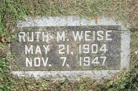BILLINGS WEISE, RUTH MAE - Pulaski County, Arkansas | RUTH MAE BILLINGS WEISE - Arkansas Gravestone Photos