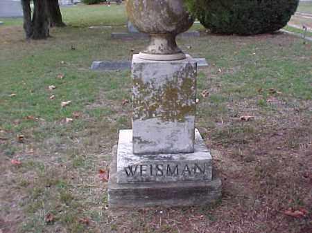 WEISMAN, ILLEGIBLE - Pulaski County, Arkansas | ILLEGIBLE WEISMAN - Arkansas Gravestone Photos