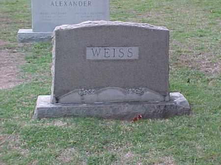 WEISS FAMILY STONE,  - Pulaski County, Arkansas |  WEISS FAMILY STONE - Arkansas Gravestone Photos