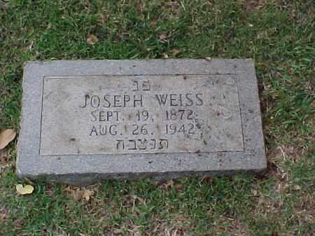 WEISS, JOSEPH - Pulaski County, Arkansas | JOSEPH WEISS - Arkansas Gravestone Photos