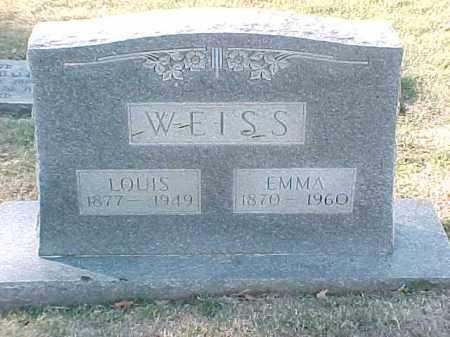 WEISS, LOUIS - Pulaski County, Arkansas | LOUIS WEISS - Arkansas Gravestone Photos