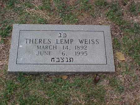 WEISS, THERES - Pulaski County, Arkansas   THERES WEISS - Arkansas Gravestone Photos