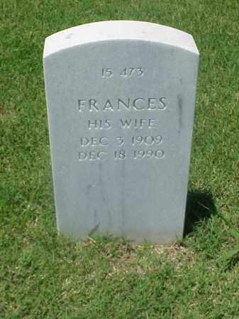 WELCH, FRANCES - Pulaski County, Arkansas   FRANCES WELCH - Arkansas Gravestone Photos