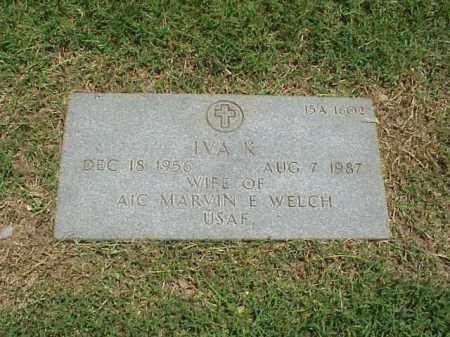 WELCH, IVA K - Pulaski County, Arkansas   IVA K WELCH - Arkansas Gravestone Photos
