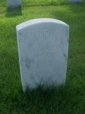 WELCH (VETERAN WWII), ROBERT D - Pulaski County, Arkansas | ROBERT D WELCH (VETERAN WWII) - Arkansas Gravestone Photos
