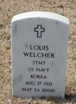 WELCHER  (VETERAN KOR), LOUIS - Pulaski County, Arkansas | LOUIS WELCHER  (VETERAN KOR) - Arkansas Gravestone Photos
