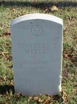 WELLER (VETERAN 3 WARS), CHARLES E - Pulaski County, Arkansas   CHARLES E WELLER (VETERAN 3 WARS) - Arkansas Gravestone Photos