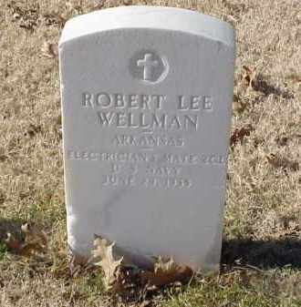 WELLMAN (VETERAN), ROBERT LEE - Pulaski County, Arkansas | ROBERT LEE WELLMAN (VETERAN) - Arkansas Gravestone Photos