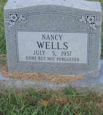 WELLS, NANCY - Pulaski County, Arkansas   NANCY WELLS - Arkansas Gravestone Photos