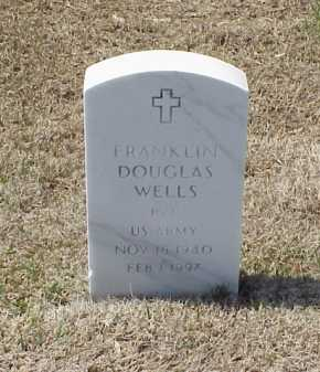 WELLS (VETERAN), FRANKLIN DOUGLAS - Pulaski County, Arkansas   FRANKLIN DOUGLAS WELLS (VETERAN) - Arkansas Gravestone Photos