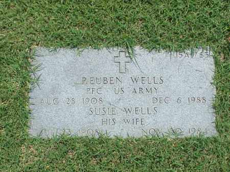 WELLS, SUSIE - Pulaski County, Arkansas | SUSIE WELLS - Arkansas Gravestone Photos