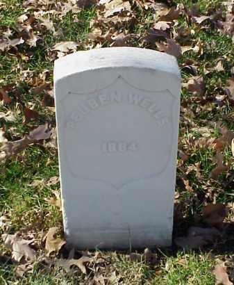 WELLS (VETERAN UNION), REUBEN - Pulaski County, Arkansas   REUBEN WELLS (VETERAN UNION) - Arkansas Gravestone Photos