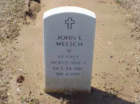 WELSCH (VETERAN WWII), JOHN L - Pulaski County, Arkansas | JOHN L WELSCH (VETERAN WWII) - Arkansas Gravestone Photos