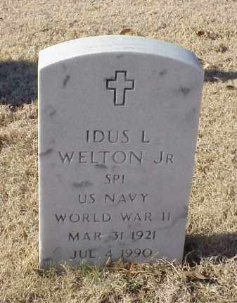 WELTON, JR (VETERAN WWII), IDUL L - Pulaski County, Arkansas | IDUL L WELTON, JR (VETERAN WWII) - Arkansas Gravestone Photos