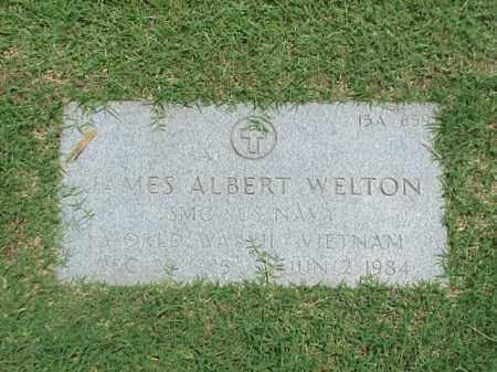 WELTON (VETERAN 3 WARS), JAMES ALBERT - Pulaski County, Arkansas | JAMES ALBERT WELTON (VETERAN 3 WARS) - Arkansas Gravestone Photos