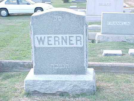 WERNER FAMILY STONE,  - Pulaski County, Arkansas |  WERNER FAMILY STONE - Arkansas Gravestone Photos