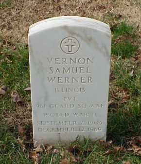 WERNER (VETERAN WWII), VERNON SAMUEL - Pulaski County, Arkansas   VERNON SAMUEL WERNER (VETERAN WWII) - Arkansas Gravestone Photos