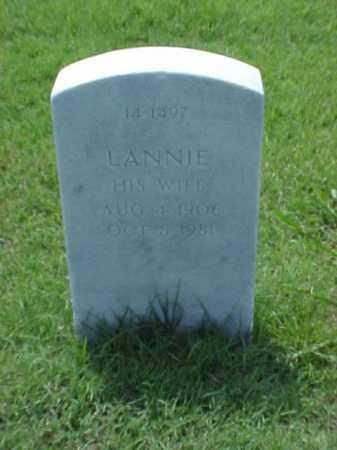 WESLEY, LANNIE - Pulaski County, Arkansas   LANNIE WESLEY - Arkansas Gravestone Photos