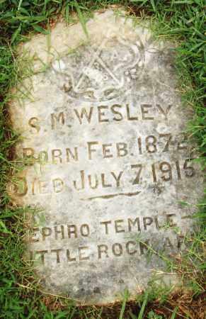 WESLEY, S. M. - Pulaski County, Arkansas   S. M. WESLEY - Arkansas Gravestone Photos