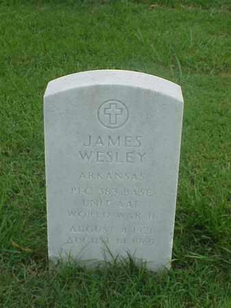 WESLEY (VETERAN WWII), JAMES - Pulaski County, Arkansas | JAMES WESLEY (VETERAN WWII) - Arkansas Gravestone Photos