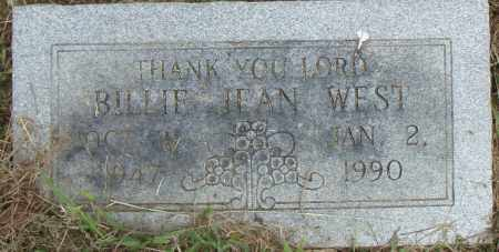 WEST, BILLIE JEAN - Pulaski County, Arkansas | BILLIE JEAN WEST - Arkansas Gravestone Photos