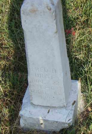 WEST, FRED N - Pulaski County, Arkansas | FRED N WEST - Arkansas Gravestone Photos