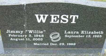 WEST, JIMMY (WILLIE) - Pulaski County, Arkansas | JIMMY (WILLIE) WEST - Arkansas Gravestone Photos